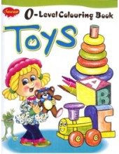 0 Level Colouring Book - Toys