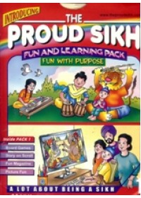 The Proud Sikh - Fun and Learning Pack - Fun With Purpose - Book By S G Martin