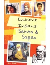 Eminent Indians - Saints and Sages - Book By M.L. Ahuja