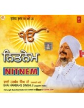 Nitnem - Audio CDs By Bhai Harbans Singh Ji Jagadhri Wale
