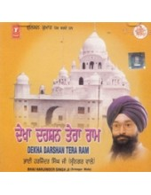 Dekha Darshan Tera Ram - Audio CD By Harjinder Singh Ji Srinagar Wale