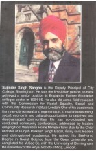 Racial Equality Education and Punjabis  in Britain - Book By Sujinder Singh Sanga