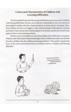 Causes and Characteristics of Children With Learning Difficulties