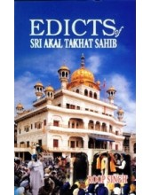 Edicts Of Sri Akal Takht Sahib - Book By Roop Singh