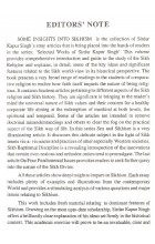 Some Insights into Sikhism - Book By Madanjit Kaur, Piar Singh