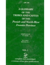 A Glossary Of The Tribes And Castes Of The Punjab and North-West Frontier Province (Set Of Vol.3) - Book By H. A. Rose