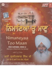 Nimaneyaa Too Maan - MP3 CD By Guriqbal Singh Ji
