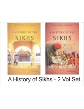 A History Of The Sikhs - Set of 2 Volumes -  By Khushwant Singh