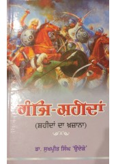 Ganje Shaheedan - Shaheedan da Khazana - Allah Yaar Khan Jogi  - Book by Sukhpreet Singh Udoke