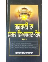 Gurbani Da Saral Viakran Bodh - Part 1 - Joginder Singh Talwara