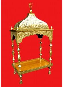 Brass Palki Sahibs For Guru Granth Sahib Ji