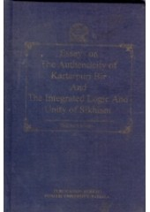 Essays on The Authenticity of  Kartarpuri Bir and The Integrated Logic And Unity Of Sikhism - Book By Daljeet Singh