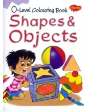 0 Level Colouring Book - Shapes and Objects