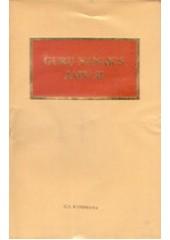 Guru Nanak's Japu ji - Book By G.S.Randhawa