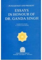 Essays in Honour of Dr Ganda Singh - Book By Harbans Singh , N Gerald Barrier