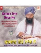 Kurban Tere Naon Nu - Audio CD By Harjinder Singh Ji Srinagar Wale
