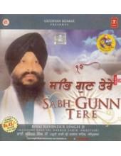 Sabh Gunn Tere - Audio CDs By Bhai Ravinder Singh Ji