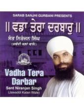 Vadha Tera Darbar - Audio CDs By Sant Niranjan Singh Ji