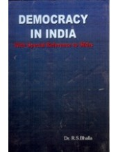 Democracy In India - Book By Dr. R. S . Bhalla