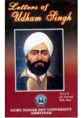Letters Of Udham Singh - Book By J S Grewal & H K Puri