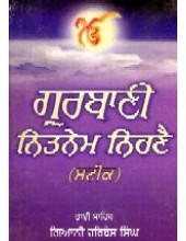 Naveen Gurbani Nitnem Steek - Book By Giani Harbans Singh