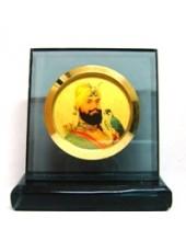 Guru Gobind Singh Ji - Black Square