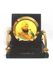 Guru Gobind Singh Ji - Golden Arms
