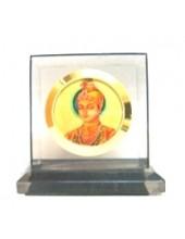 Guru Harkrishan Sahib Ji  - Black Square
