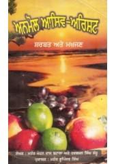 Anmol Aasiv Arisht Sharbat ate Makhjan - Book By Mahant Mohan Das Batala , Harbhajan Singh Sandhu