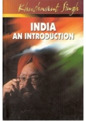 India An Introduction - Book By Khushwant Singh
