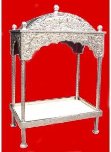 Steel Palki Sahib for Guru Granth Sahib Ji