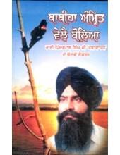 Babiha Amrit Vele Boliya - Book By Pinderpal Singh Ji Katha vachak