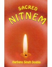 Sacred Nitnem - (Deluxe - Hardbound ) - By Harbans Singh Doabia