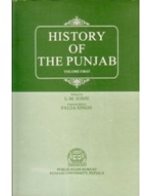 History Of The Punjab - Vol 1 - Book By L M Joshi , Fauja Singh