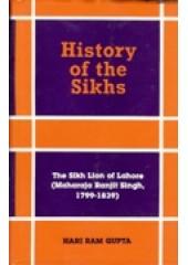 History of The Sikhs - Book By Hari Ram Gupta