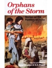 Orphans Of The Storm - Book By Saros Cowasjee , Kartar Singh Duggal