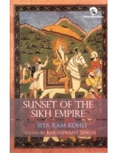 Sunset of The Sikh Empire - Book by Sita Ram Kohli
