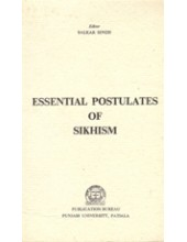 Essential Postulates of Sikhism - Book By Balkar Singh