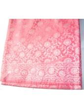 Light Pink Base Jari Rumala Sahib With Silver Jari - Jari_1014