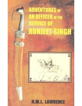 Adventures Of An Officer In The Service Of Runjeet Singh - Book By H.M.L.Lawrence