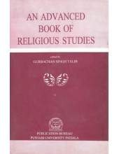 An Advanced Book Of Religious Studies - Book By Gurbachan Singh Talib