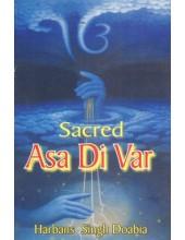 Sacred Asa Di Var - Book By Harbans Singh Doabia