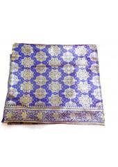 Royal Blue Jari Rumala Sahib  With Golden Jari - Jari_1005