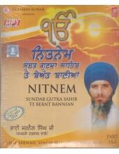 Nitnem - Sundar Gutak Sahib Te Beant Bannian - MP3 By Bhai Jarnail Singh Ji Damdami Taksal Wale