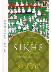 A History of the Sikhs - Vol 2 - 1839 - 2004 - Book By Khushwant Singh