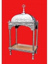 Steel Palki Sahib Deluxe - Small Size - For Guru Granth Sahib Ji